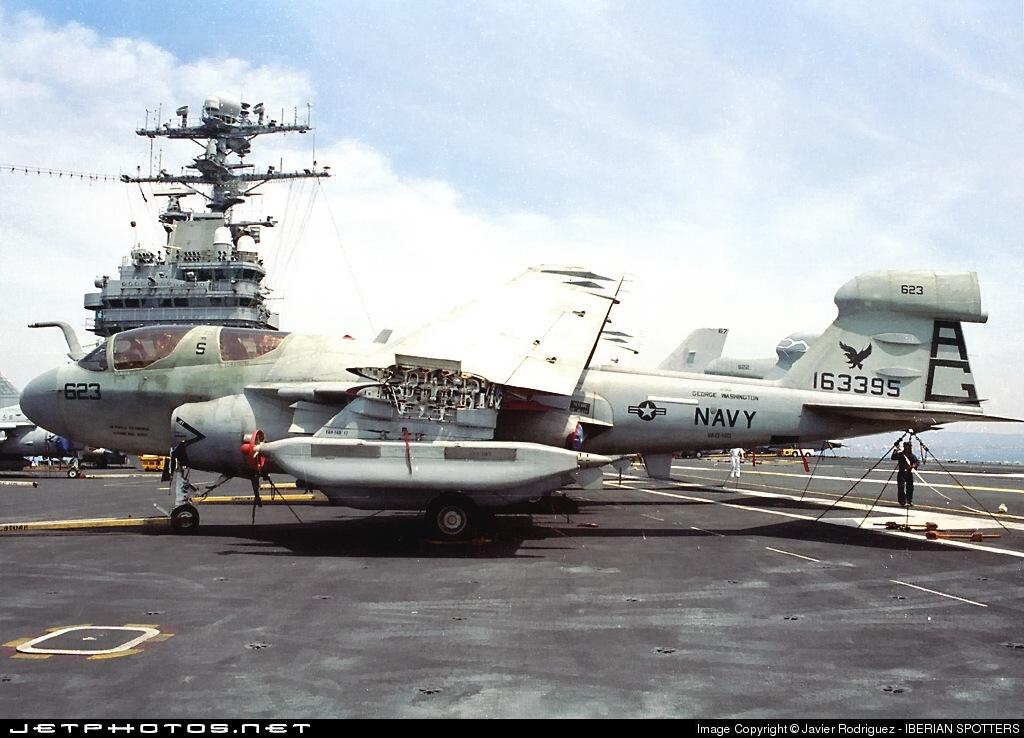 163395 - Grumman EA-6B Prowler - United States - US Navy (USN)