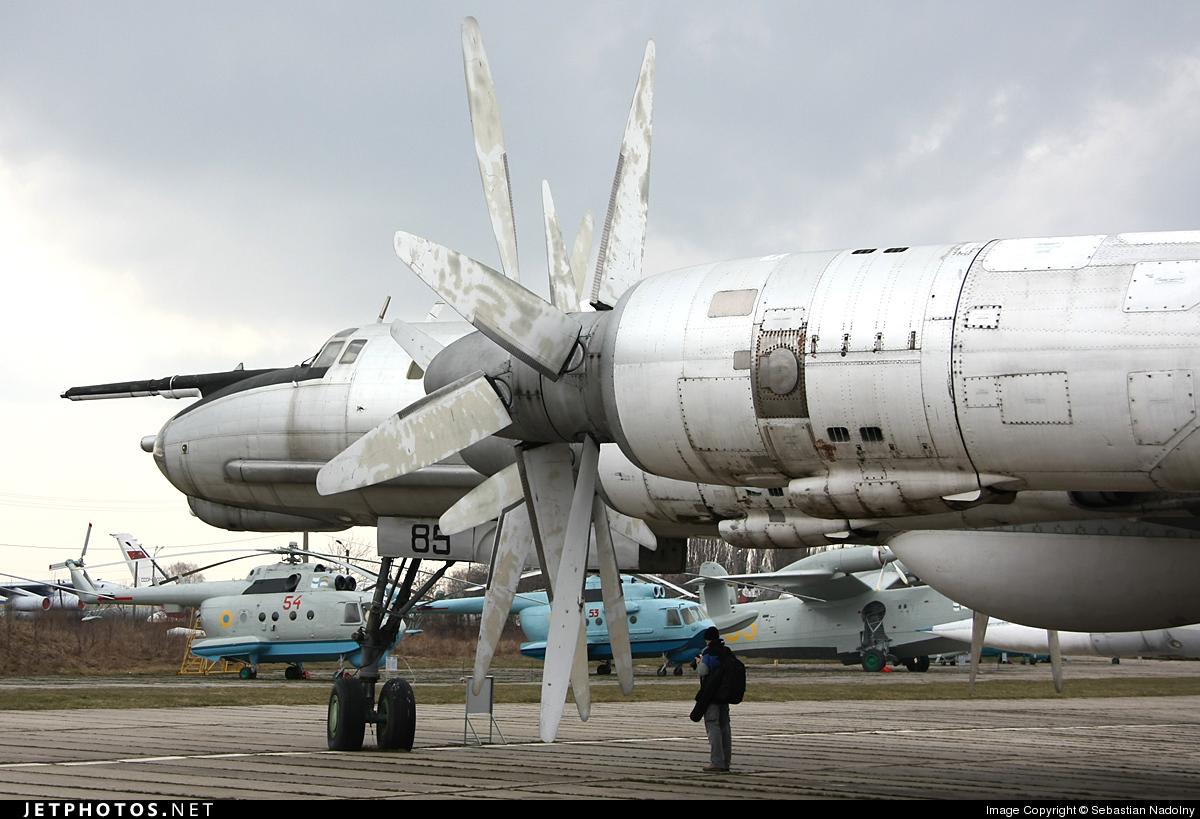 85 - Tupolev Tu-142M3 - Ukraine - Air Force