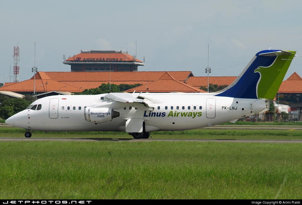 PK-LNJ - British Aerospace BAe 146-200 - Linus Airways
