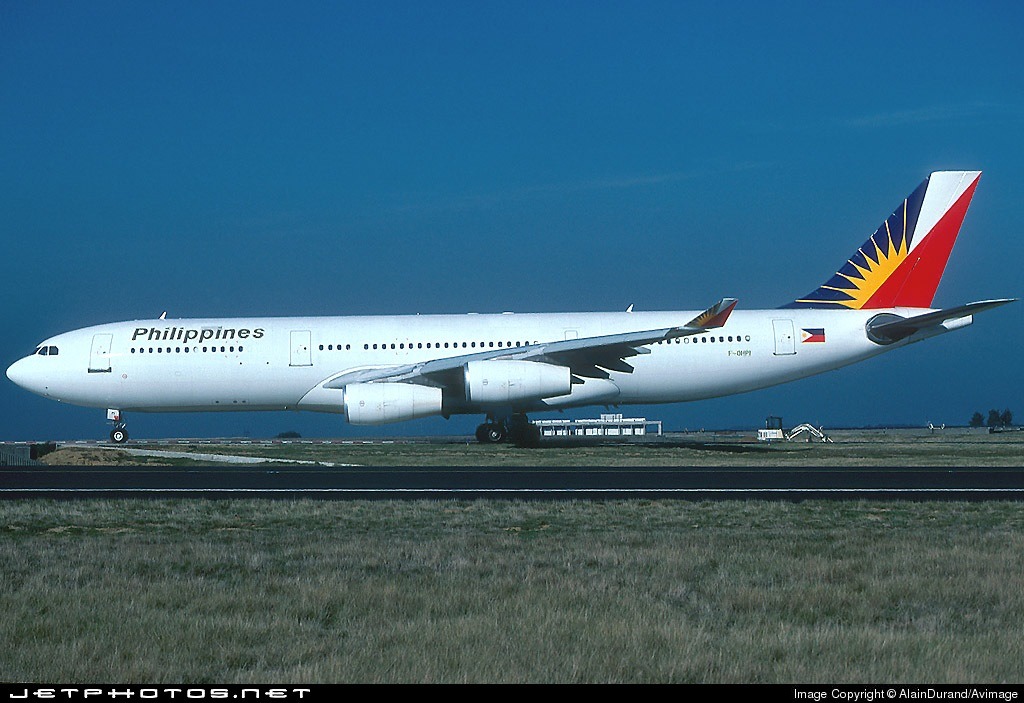 F-OHPI - Airbus A340-211 - Philippine Airlines