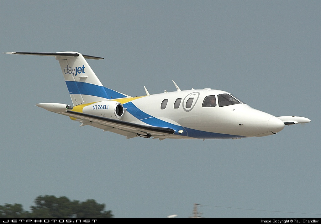 N126DJ - Eclipse 500 - DayJet