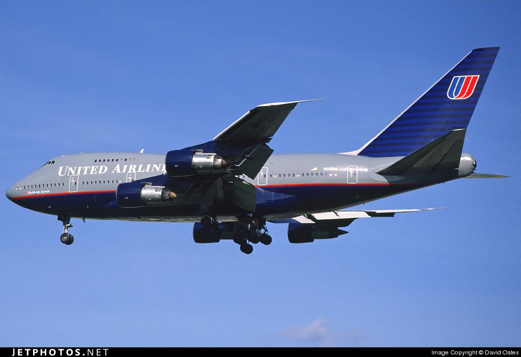 N145UA - Boeing 747SP-21 - United Airlines