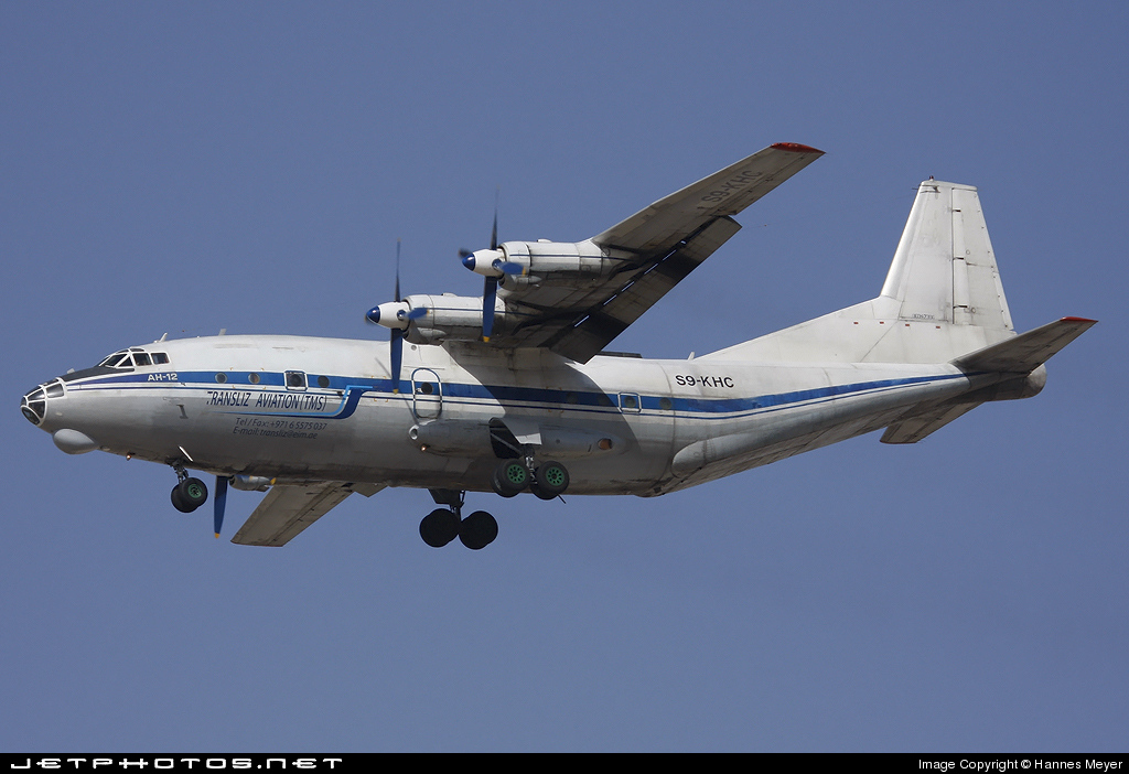 S9-KHC - Antonov An-12B - Transliz Aviation
