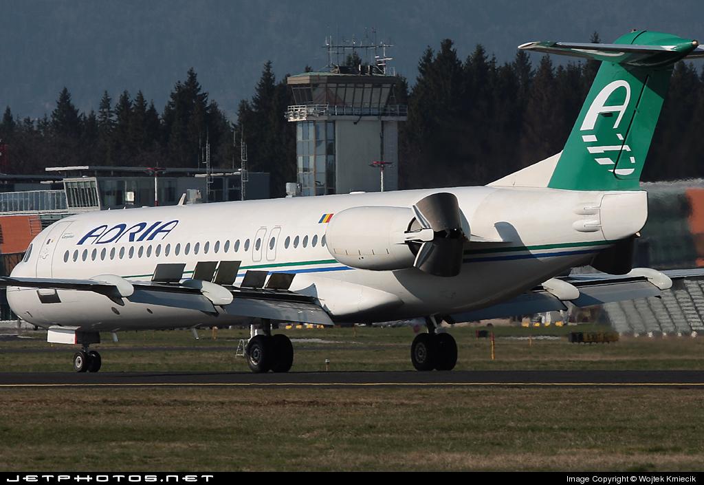 YR-FKA - Fokker 100 - Adria Airways (Carpatair)