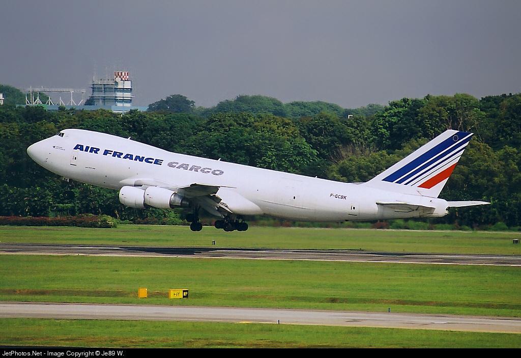 F-GCBK - Boeing 747-228F(SCD) - Air France Cargo