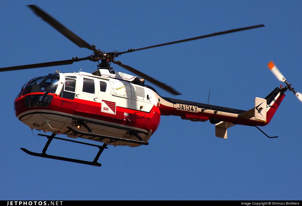 JA134Y - MBB Bo105S - Private