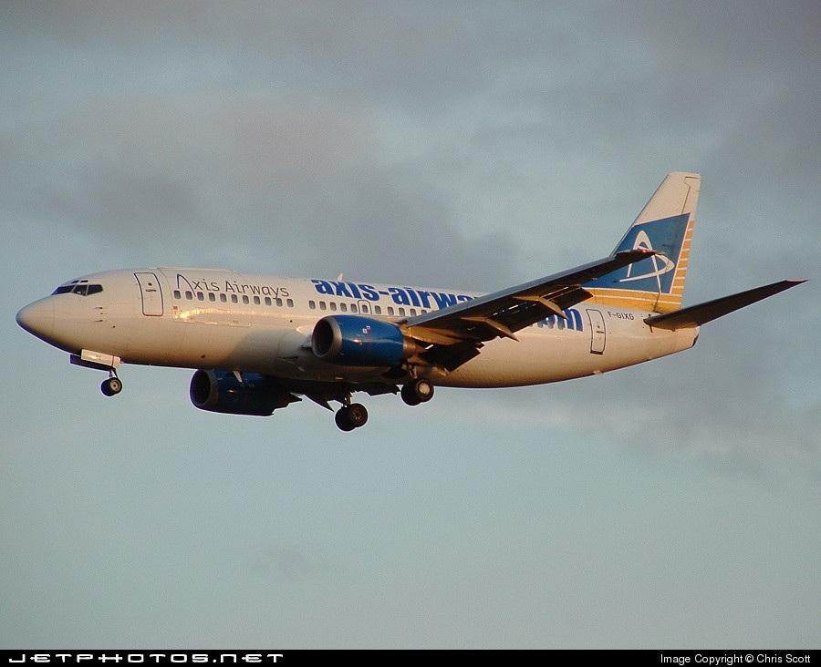 F-GIXG - Boeing 737-382(QC) - Axis Airways