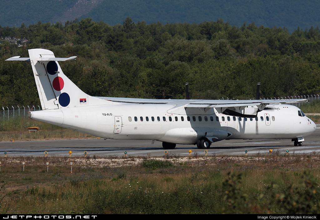 YU-ALO - ATR 72-202 - Jat Airways