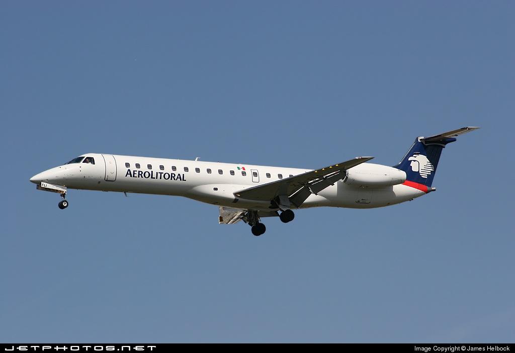 XA-FLI - Embraer ERJ-145MP - Aerolitoral