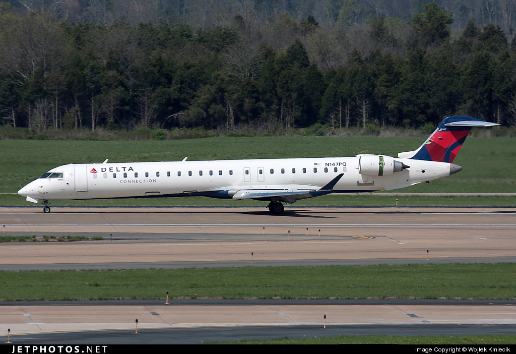 N147PQ - Bombardier CRJ-900LR - Delta Connection (Pinnacle Airlines)