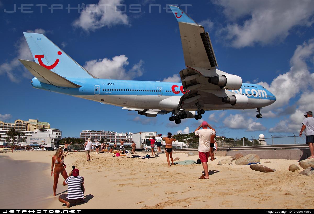 F-HSEA - Boeing 747-422 - Corsair
