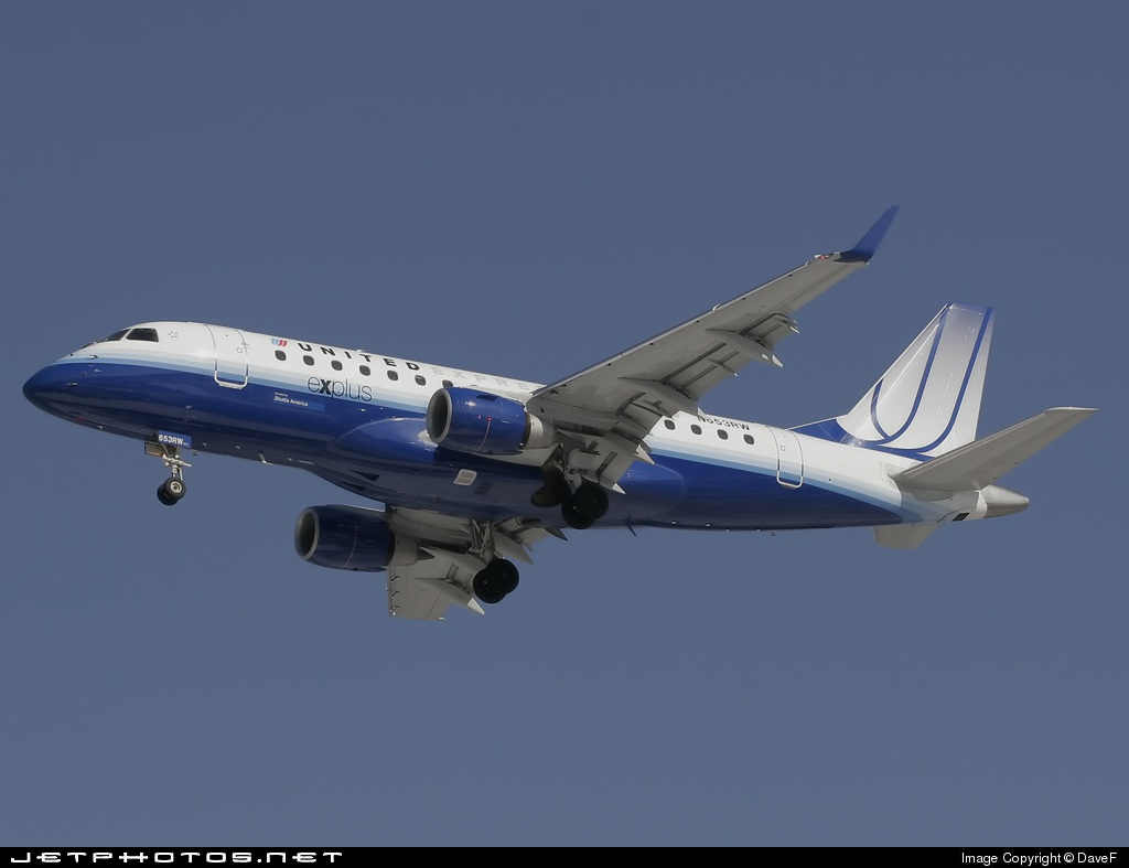 N653RW - Embraer 170-100SE - United Express (Shuttle America)