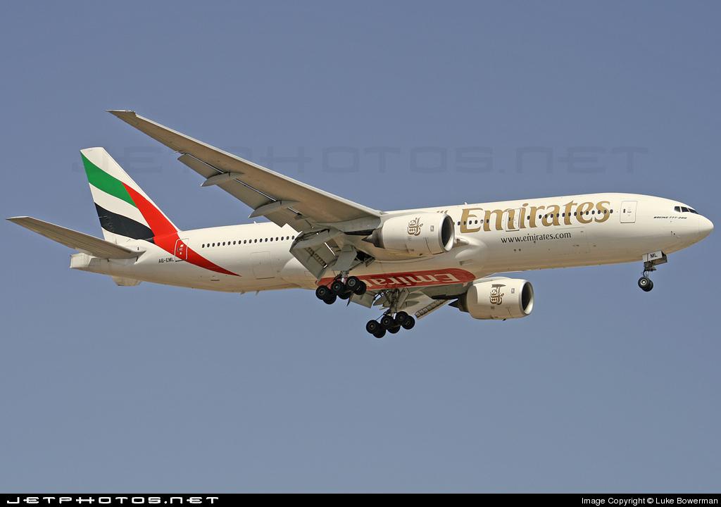 A6-EML - Boeing 777-21H - Emirates