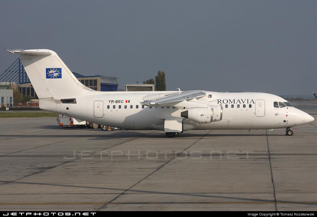 YR-BEC - British Aerospace BAe 146-200A - Romavia
