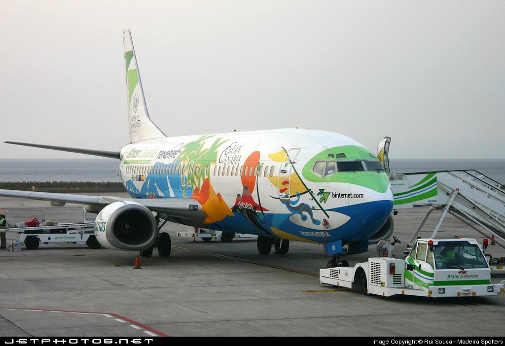 EC-INQ - Boeing 737-4Q8 - Binter Canarias (Futura International Airways)