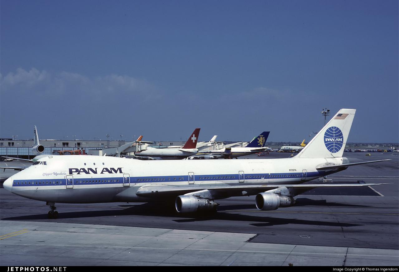 N725PA - Boeing 747-132(M) - Pan Am