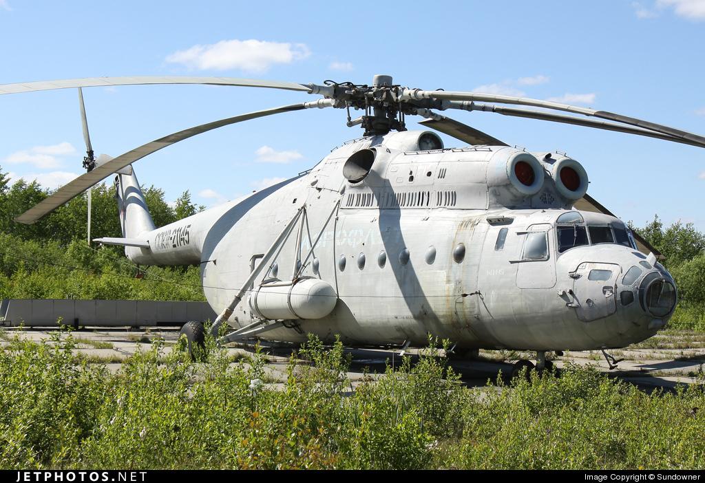 RA-21145 - Mil Mi-6 Hook - Aeroflot