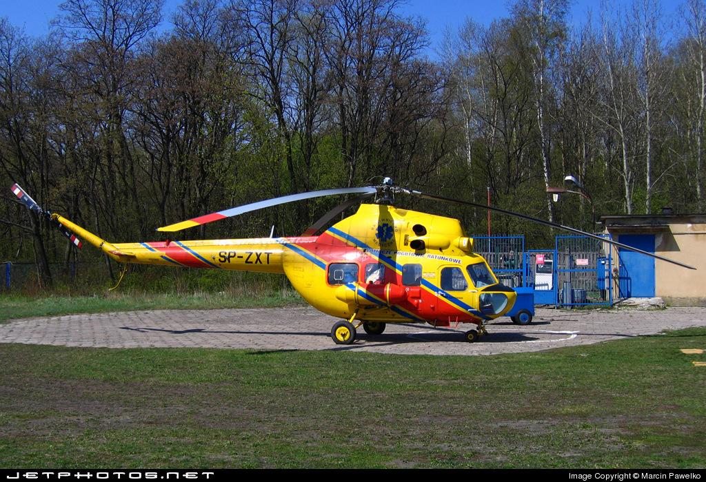 SP-ZXT - PZL-Swidnik Mi-2 Hoplite - Lotnicze Pogotowie Ratunkowe