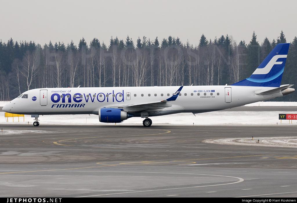 OH-LKN - Embraer 190-100LR - Finnair