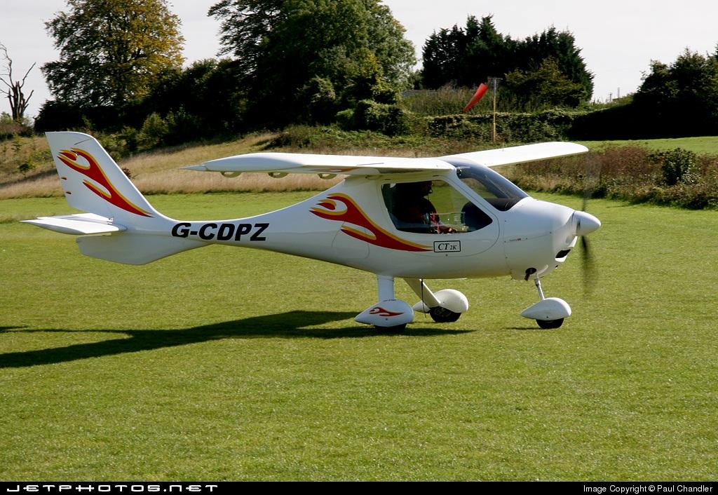 G-CDPZ - Flight Design CT2K - Private