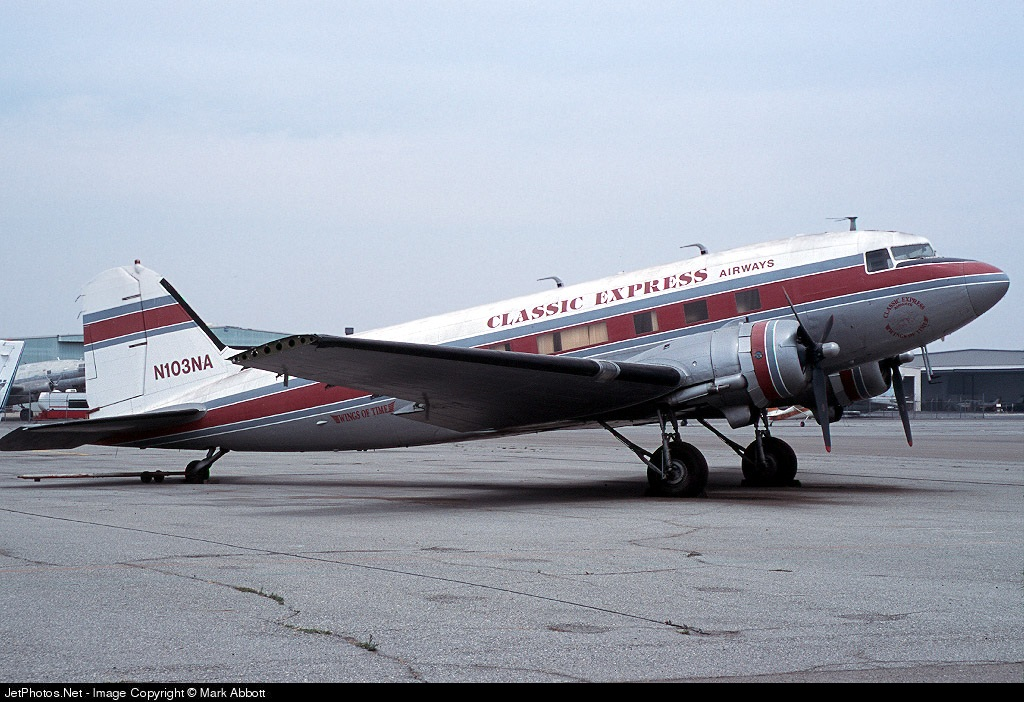 N103NA - Douglas C-47B Skytrain - Classic Express Airways