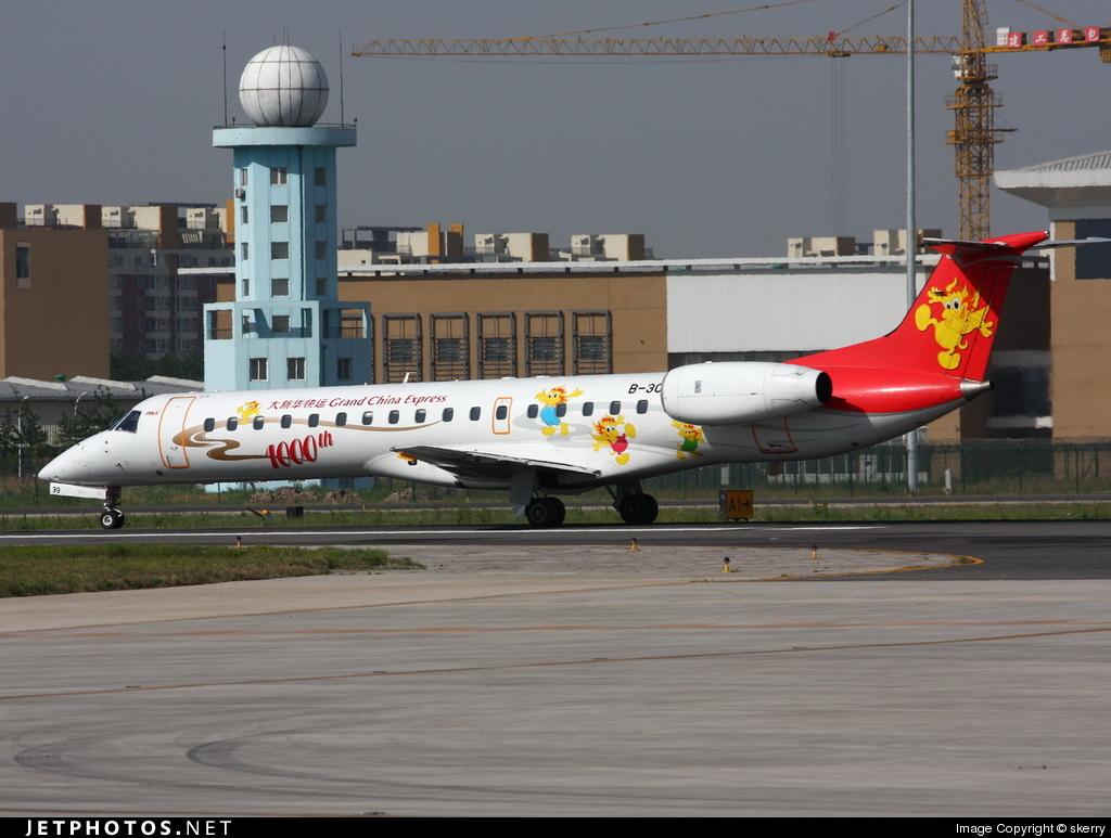 B-3030 - Embraer ERJ-145LI - Grand China Express