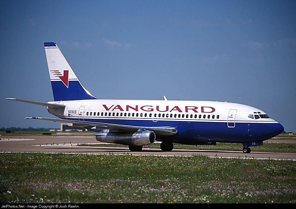 N219US - Boeing 737-281 - Vanguard Airlines