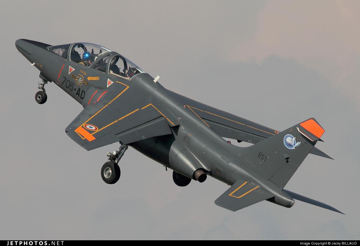 E51 - Dassault-Breguet-Dornier Alpha Jet E - France - Air Force