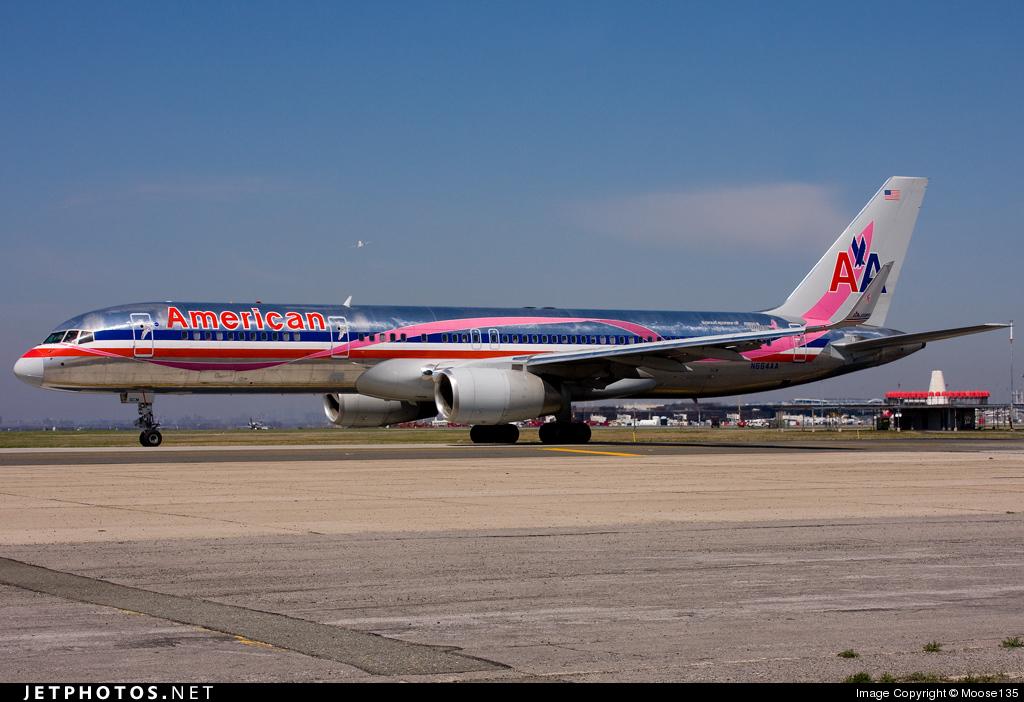N664AA - Boeing 757-223 - American Airlines
