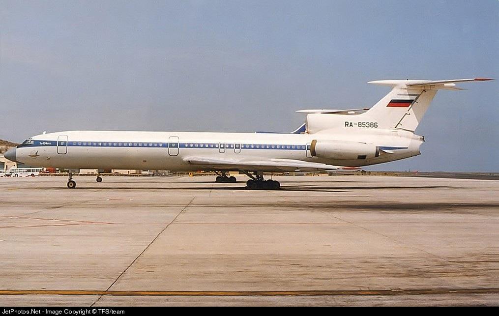 RA-85386 - Tupolev TU-154B-2 - Arkhangelsk Airlines (AVL)