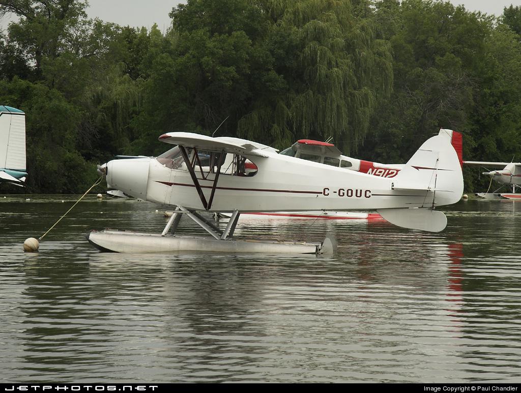 C-GOUC - Piper J-5A Cub Cruiser - Private