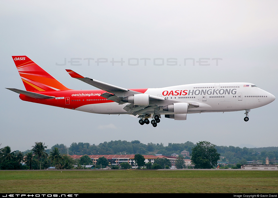 9M-MPG - Boeing 747-4H6 - Oasis Hong Kong Airlines