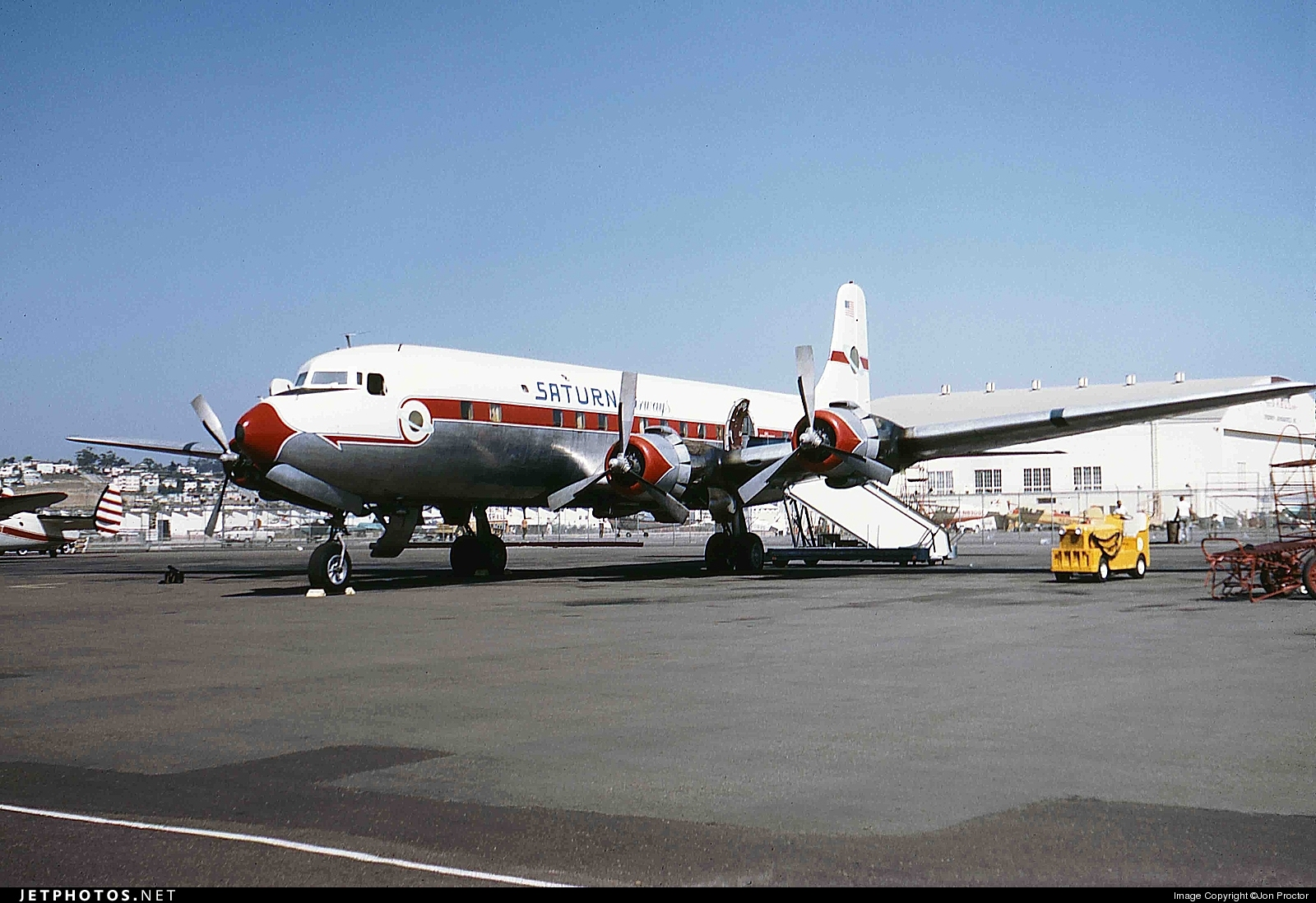 N90772 - Douglas DC-6B - Saturn Airways