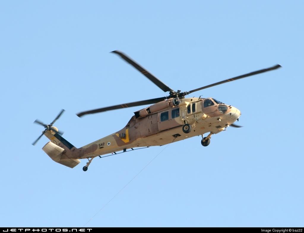 542 - Sikorsky S-70A Yanshuf 3 - Israel - Air Force