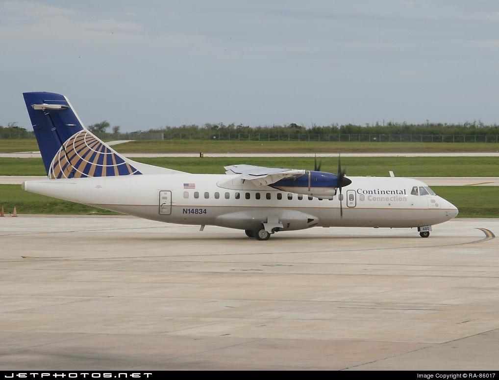 N14834 - ATR 42-320 - Continental Connection (Cape Air)