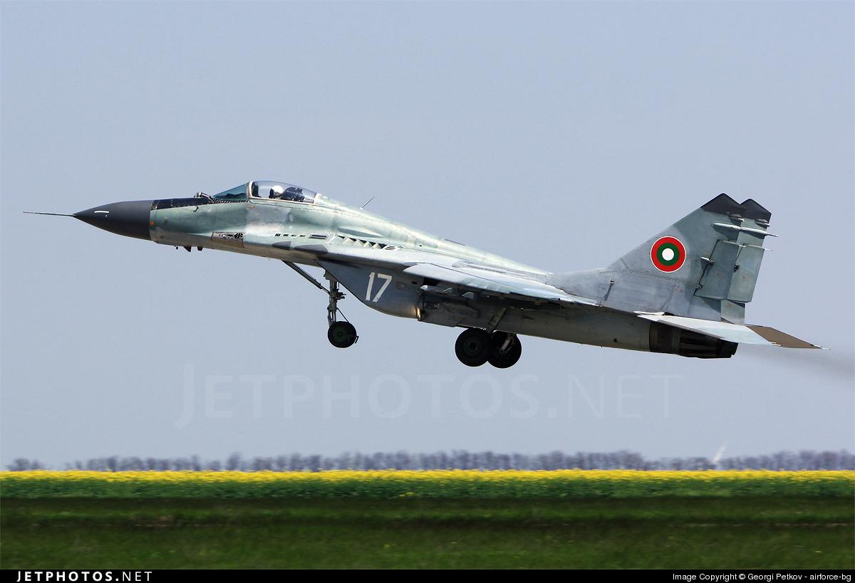 17 - Mikoyan-Gurevich MiG-29A Fulcrum - Bulgaria - Air Force
