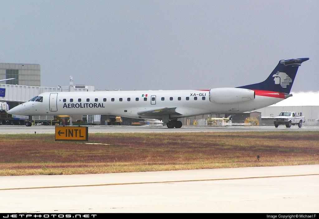 XA-GLI - Embraer ERJ-145LR - Aerolitoral