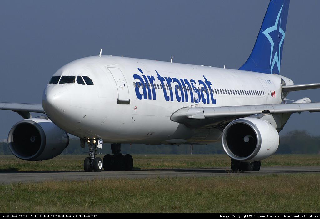 C Glat Airbus A310 308 Air Transat Romain Salerno Aeronantes