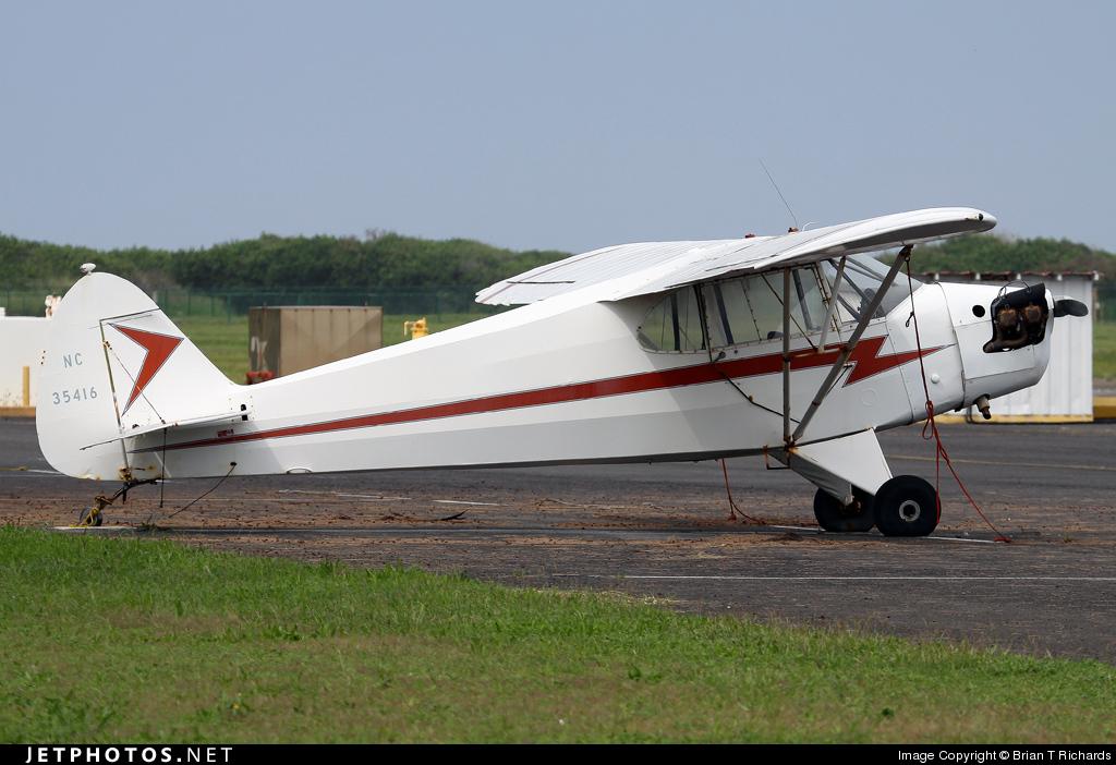 N35416 - Piper J-5A Cub Cruiser - Private
