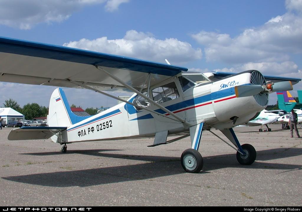FLARF-02592 - Yakovlev Yak-12 - Private