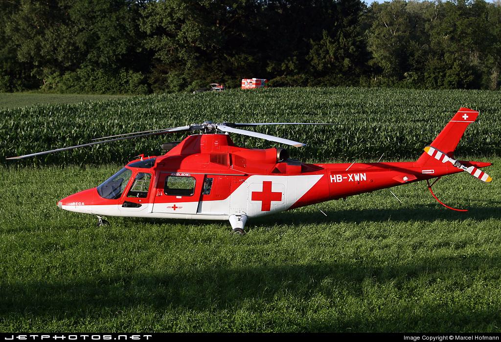HB-XWN - Agusta A109K2 - REGA - Swiss Air Ambulance
