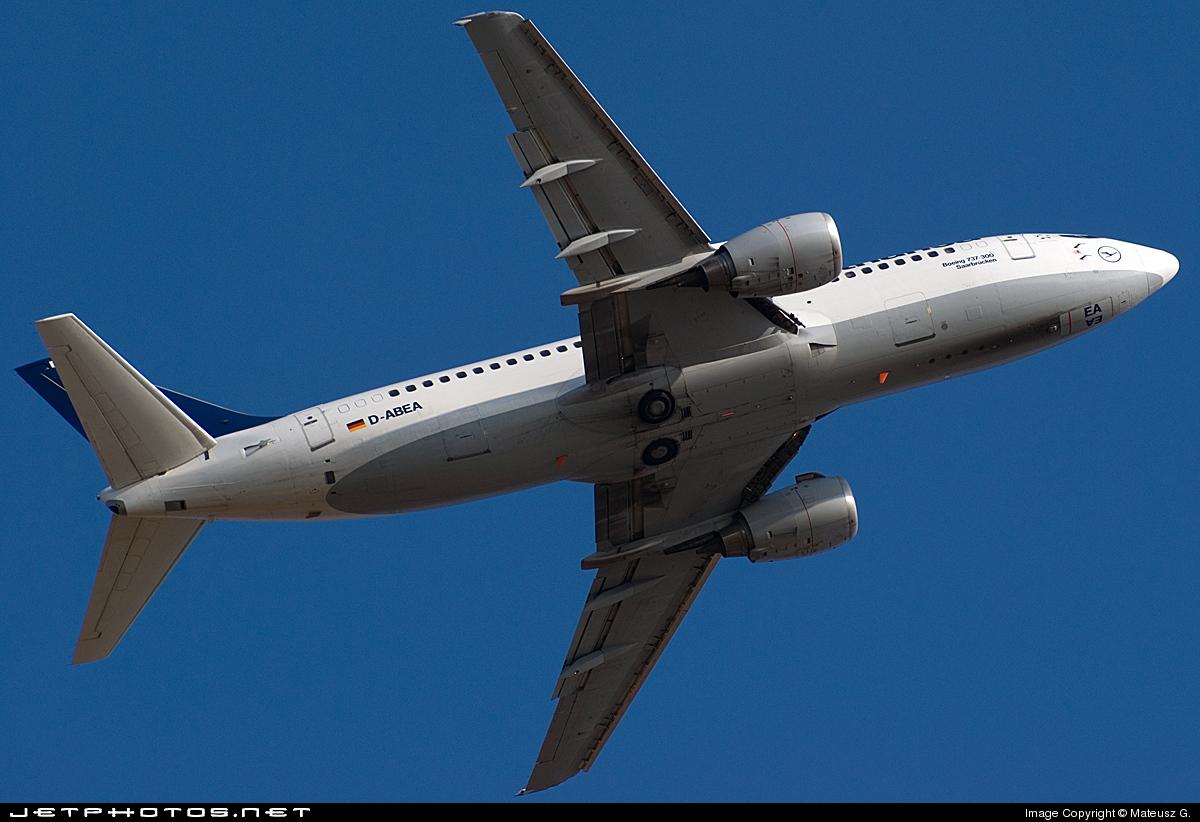 D-ABEA - Boeing 737-330 - Lufthansa