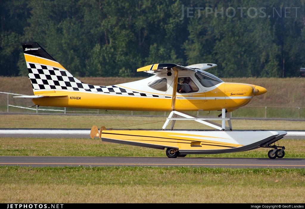 N744EM - Glasair Aviation GS-2 Sportsman 2+2 - Private