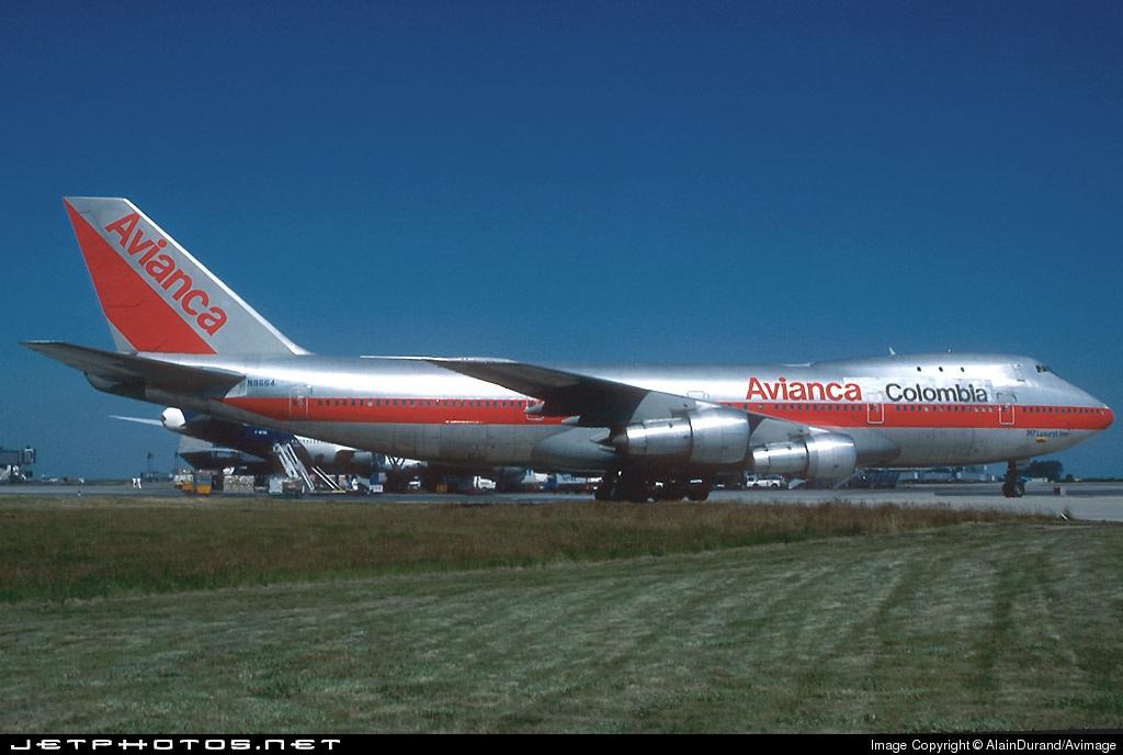 N9664 - Boeing 747-123 - Avianca
