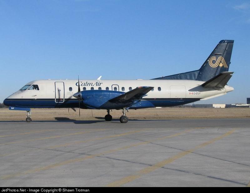 C-GTJY - Saab 340B - Calm Air