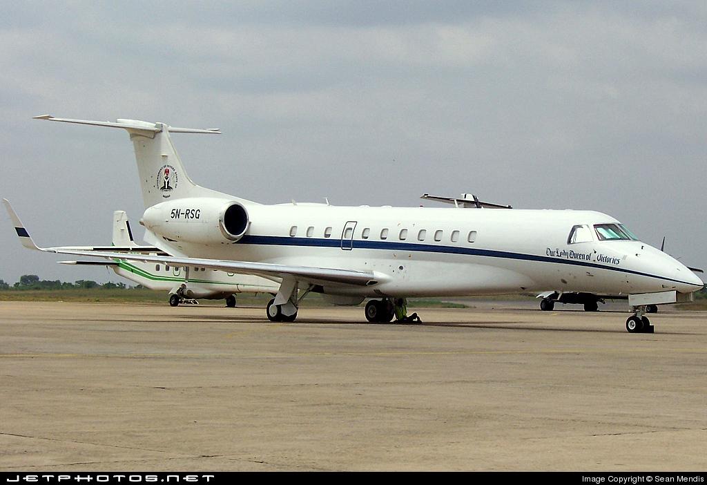 5N-RSG - Embraer ERJ-135BJ Legacy - Nigeria - Government