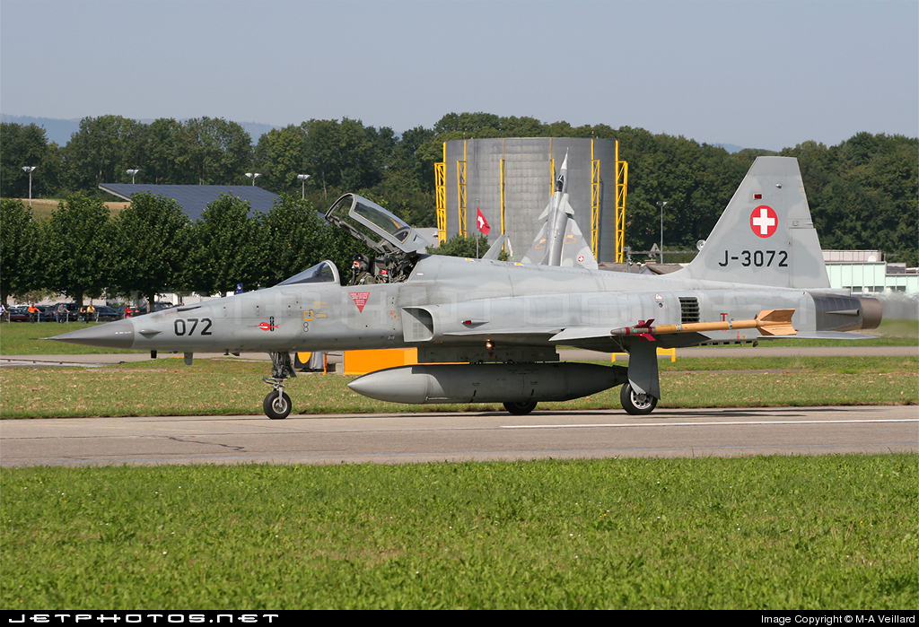 J-3072 - Northrop F-5E Tiger II - Switzerland - Air Force