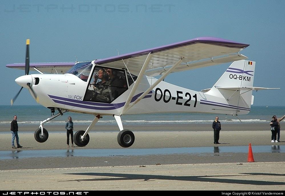 OO-E21 - Aeropro Eurofox - Private
