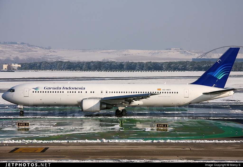 EC-HSV - Boeing 767-3Q8(ER) - Garuda Indonesia (Air Europa)