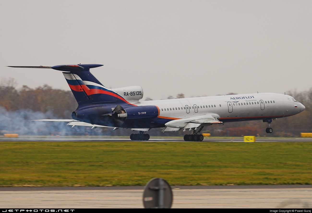 RA-85135 - Tupolev Tu-154M - Aeroflot